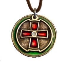 Ted dekker one circle trilogy necklace replica black red white circle pendent ted dekker aloadofball Choice Image