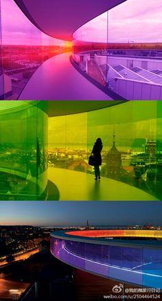 Your Rainbow Panorama, ARoS Aarhus -- By Olafur Eliasson