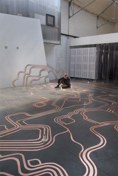 OSK - Offener Schaltkreis - (open circuit) - A sound installation by Christoph Haag, Martin Rumori, Franziska Windisch and Ludwig Zeller.