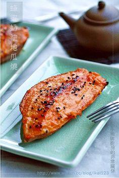 【食譜】焦糖奶油地瓜燒, 簡單做   小熊與廚房的非常關係