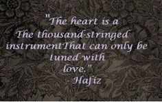bohemian love quotes | Hafiz/Hafez Quotes | The Bohemian Blank