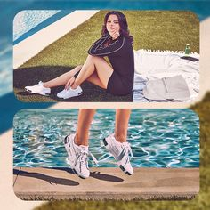Lacoste, Tommy Hilfiger, Puma Cali, Zapatillas Casual, State, Selena Gomez, Vintage Outfits, Shoes Sneakers, Cover Up