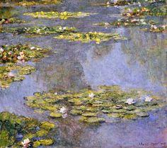 Claude Monet Paintings   Claude Monet Water Lilies