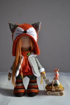 кукла лисичка