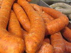 Füstölt kolbász recept lépés 5 foto Carrots, Vegetables, Food, Essen, Carrot, Vegetable Recipes, Meals, Yemek, Veggies