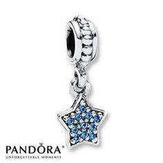 Blue Pandora Charm, Thanks Alexis!