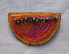 Felt Brooch by mishevam on etsy