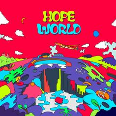 J-Hope's 'Hope World' Mixtape Cover~~! ❤️ Where to find 'Hope World' mixtape: SoundCloud, Spotify, Apple Music, BigHit's download links; j-hope 'Daydream_백일몽' MV on YouTube~ #BTS #방탄소년단