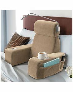Brookstone 'Nap™' Massaging Bed Rest