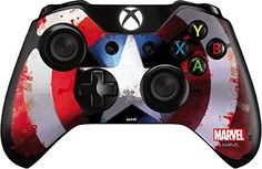 Cool Looking Captain America Shield - Skin for Xbox One - Controller. Buy Now for cheap price