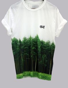 I could make a piece like this one, by using one of my tree line images from Tilgate and using it to make a similar t-shirt design like this one. T Shirt Designs, Mode Style, Look Cool, Cool Tees, Swagg, Mens Fashion, Fashion Trends, T Shirts, Cool Outfits
