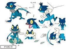 Official Pokemon Concept Art