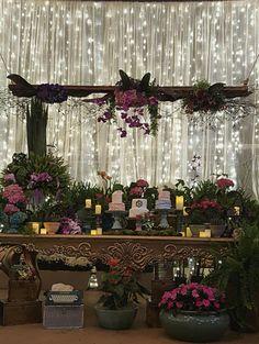 Mesa do bolo - wedding  - by me