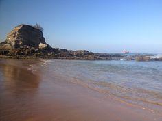 A la playa en Santander