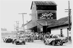 Package Design, Race Cars & Robert Sidney Dickens | BEACH Elkhart Lake, Race Cars, Packaging Design, Racing, America, Roads, Ephemera, Beach, Environment