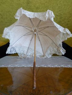 1904 Edwardian Lace Umbrella antique umbrella antique