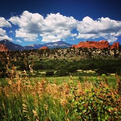 Come to the Visitor and Nature Center for the BEST views of Garden of the Gods