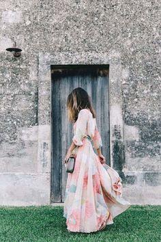 romantic maxi dresses