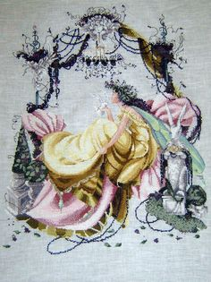 """Stitched to order, Mirabilia """"Fairy Idyll"""" MD-21 by Nora Corbett"""