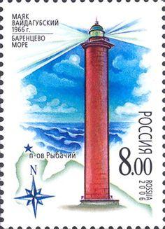 Маяки Баренцева и Белого морей.