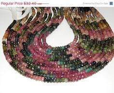ON SALE off 5% extra Awesome Multi Tourmaline by manzoorgems