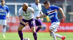 Forrygende underholdning i søndagens første kamp mellem Sampdoria og Fiorentina, der endte 2-2 på Marassi.