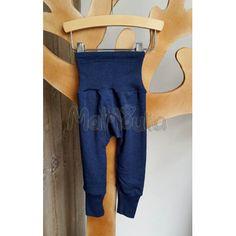 pantalon-legging-ceinture-large-laine-soie-bébé-enfant-cosilana-mamoulia-bleu-marine-71016