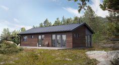 Krypinn, hytte som passer både skog, fjell og ved sjø | Norgeshus