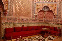 Gabinete Árabe, 1848.  Palacio Real de Aranjuez