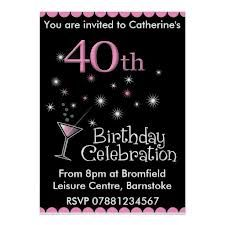 40th birthday free printable invitation template birthday party 40th birthday invitations google search filmwisefo Image collections