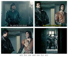 The Musketeers - 1x10 - Musketeers Don't Die Easily << Loved this episode!!! Great finale!!