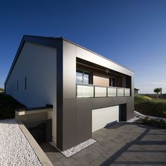 House in a Hungarian Town by Bauer Polla and ZOA Architects | HomeDSGN, a daily source for inspiration and fresh ideas on interior design and home decoration.
