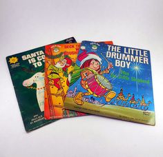 Vintage 45 RPM Records  / Peter Pan Records USA by WildGooseChase