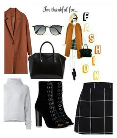 """""""Untitled #350"""" by norhenbijaoiu ❤ liked on Polyvore featuring Barbara Bui, Le Kasha, Givenchy and Ray-Ban"""