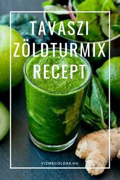 Alacsony szénhidrát tartalmú ételek - A zöld turmix 10 előnye + egy tavaszi zöld turmix recept Cucumber, Paleo, Favorite Recipes, Meals, Food, Meal, Essen, Yemek, Yemek