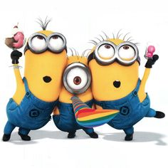 This post was inspired by the awesome Despicable Me cartoon. I adore these minions! They are so cute and funny. Below you'll find some cool tutorials on how to create a minion character in Photoshop and Illustrator. Amor Minions, Despicable Me 2 Minions, Minion Movie, My Minion, Minions Quotes, Happy Minions, Funny Minion, Minion Rush, Despicable Me 2