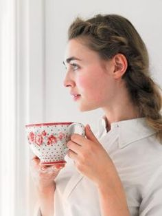 Greengate Europe that is a tea cup for me Little's Coffee, Bella Rose, Cath Kidston, Red Green, Tea Time, Gate, Tea Pots, Girly, Europe