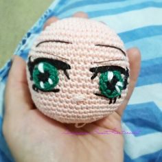 Anime eyes #amigurumi #crochet #eyes #anime #cute #otaku