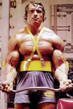 The Arm Blaster, one of the best ways to isolate your biceps and encourage perfect form.  Used by the legend himself.