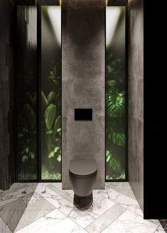 Modern Bathroom Design, Bathroom Interior Design, Modern Interior Design, Luxury Interior, Contemporary Interior, Wc Design, Toilet Design, House Design, Beautiful Small Bathrooms