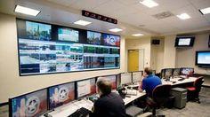 Crime Fighting Digital Signage in Dallas Police Department Fusion Center