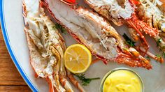 Dill-cooked lobsters with lemon mayonnaise recipe : SBS Food Sweet Corn Recipes, Dill Recipes, Mayonnaise Recipe, Fresh Lobster, How To Cook Lobster, Sbs Food, Fresh Dill, Lobsters