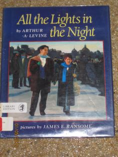All the Lights in the Night Arthur Levine Childrens Hanukkah Story of Freedom HC