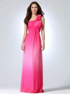 Chiffon floor length dress with pleated cross over bust [#O8021B22002679] - $208.00 : Crazeparty.com, Dare to be Different!