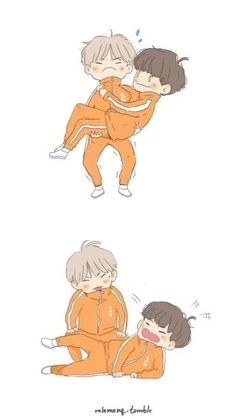 Yoonseok♡♡♡ Que fofinhos!!!