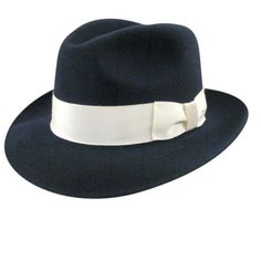 Bollman Collection 1920's Fedora Hat  (Men's) http://www.vintagedancer.com/1920s/1920s-style-hats-men/