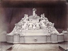 """feuille-d-automne:  Charles Marville (1813-1879). """"Album mobilier urbain: ensemble décoratif"""", vers 1860. Paris, musée Carnavalet. © C..."""
