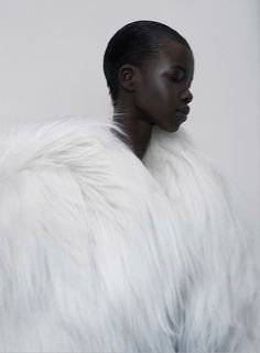 Nykhor Paul in The Lab Magazine #7 ('Nykhor in Bloom'), June 2013. Photo: Kasia Bielska.