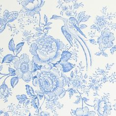 Papel de pared clásico Vintage Dauphin porcelain