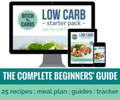 "Visit my low carb shop where you'll find the top selling ""Low carb starter pack - the complete beginners' guide"" and other great low carb products."